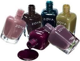 Mooie herfskleuren nagellak zonder chemicaliën van Zoya