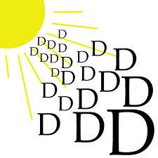 Beyuna vitamine D, zon in een potje,